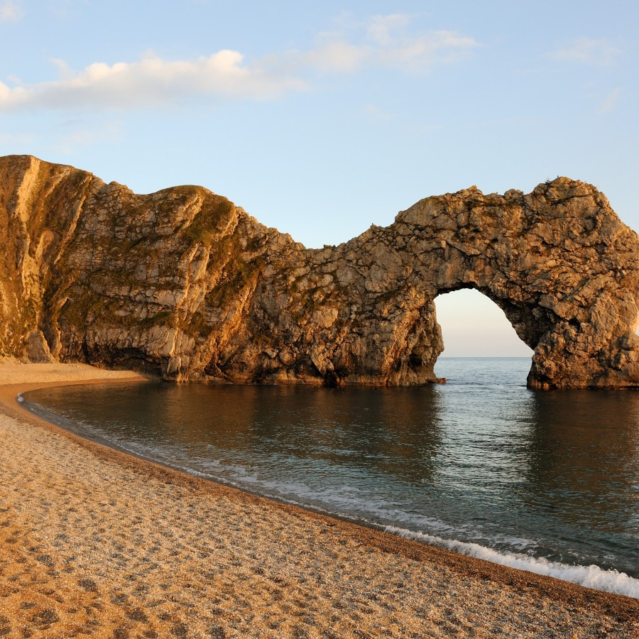 Durdle_Door_Dorset_Sunset