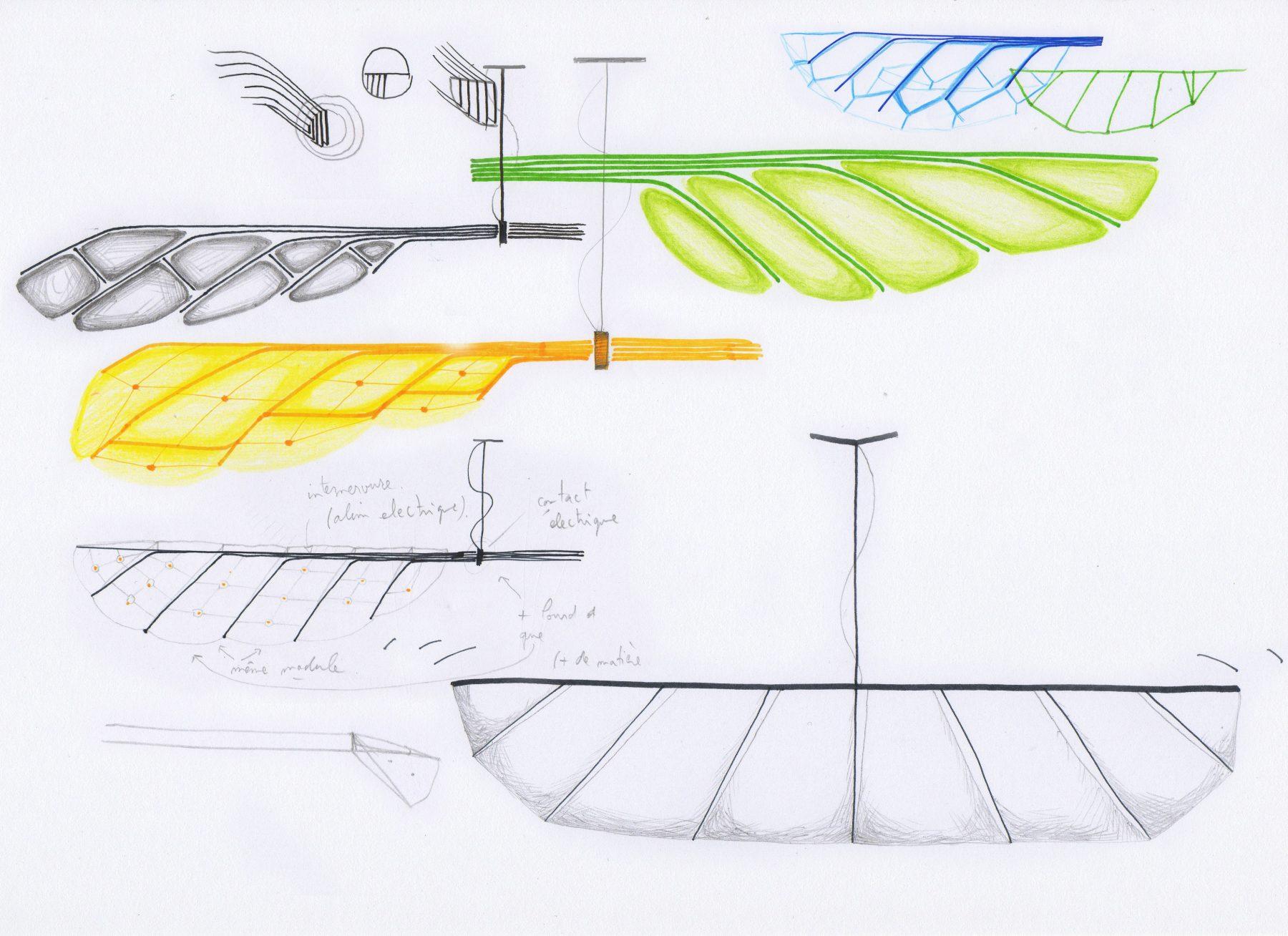 PLUME light - Sketches - Aide à projet VIA 2013 - design by bold - photo Marie Flores - www.bold-design.fr