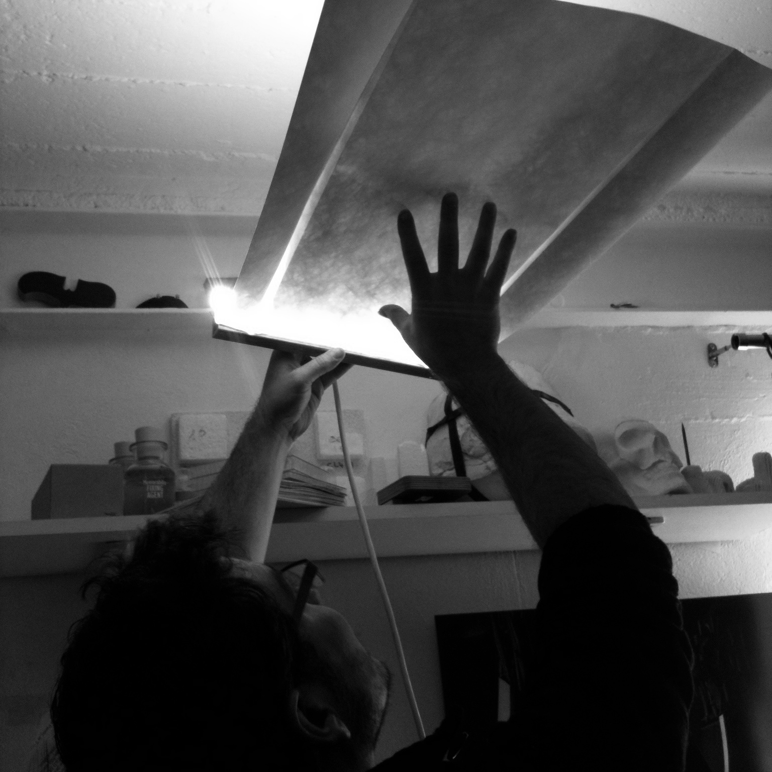 Making of light PLUME - Aide à projet VIA 2013 - design by bold - photo bold - www.bold-design.fr