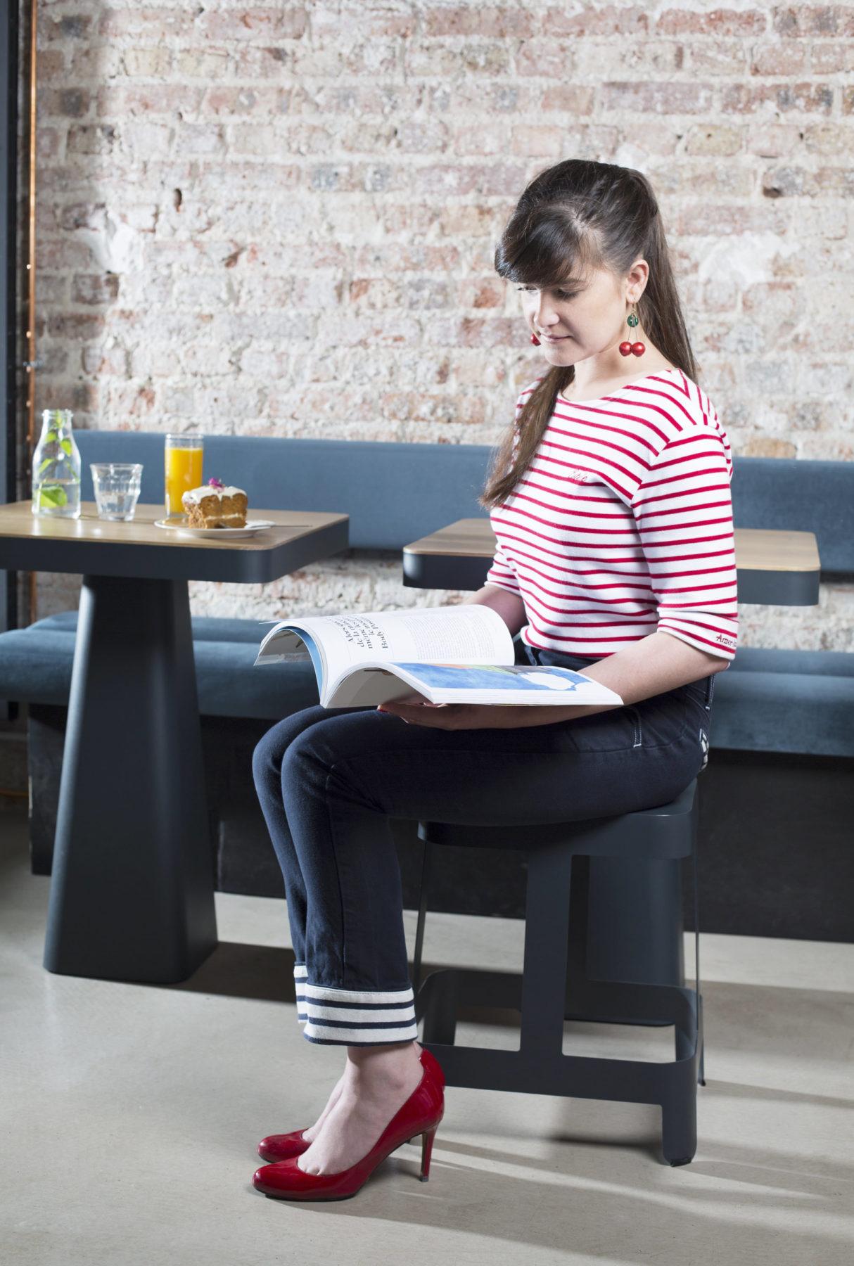Table et Tabouret PILE - MIGNON Café - KATABA.fr - bold-design.fr