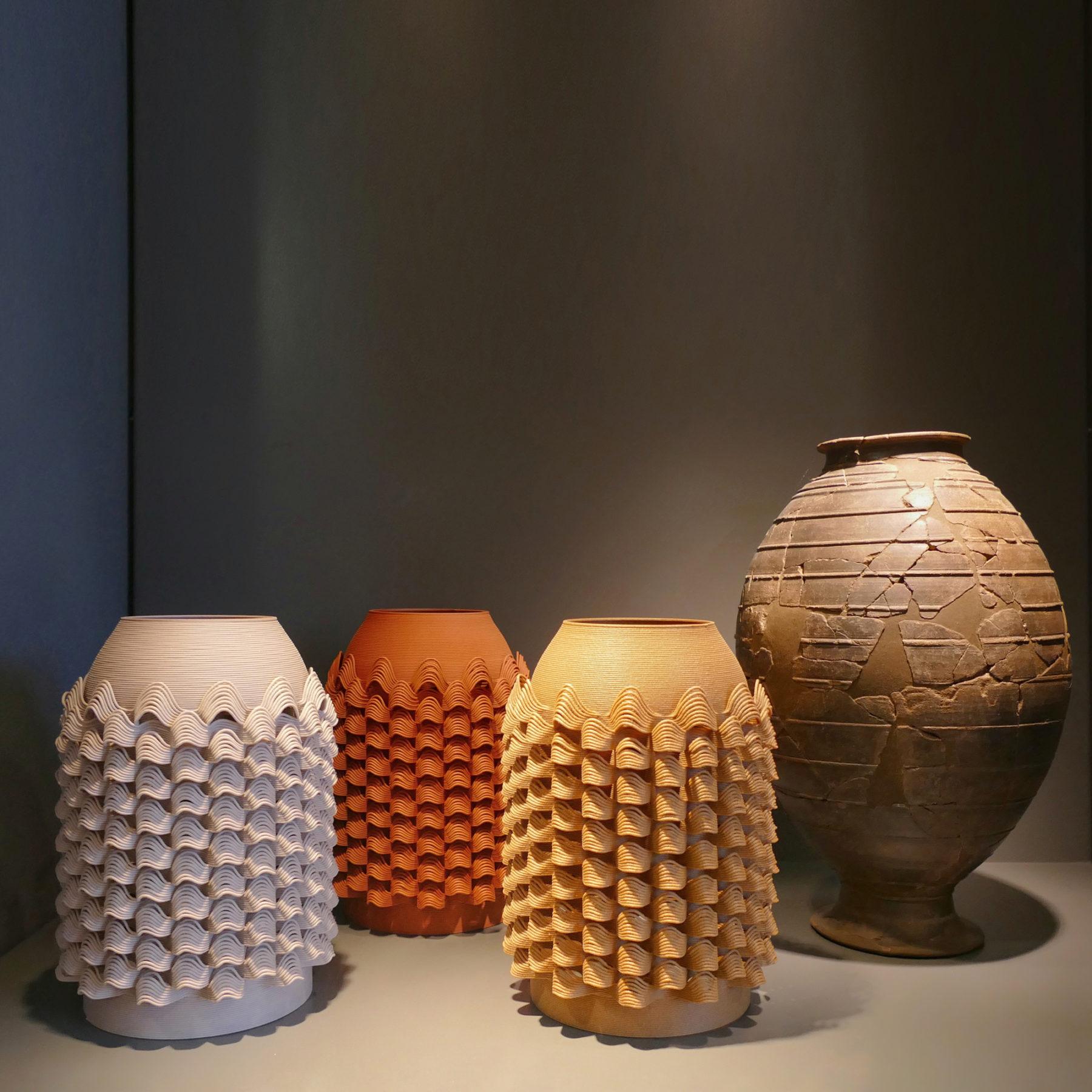 Vase TUILE - BRONZAGE Exposition - bold-design.fr