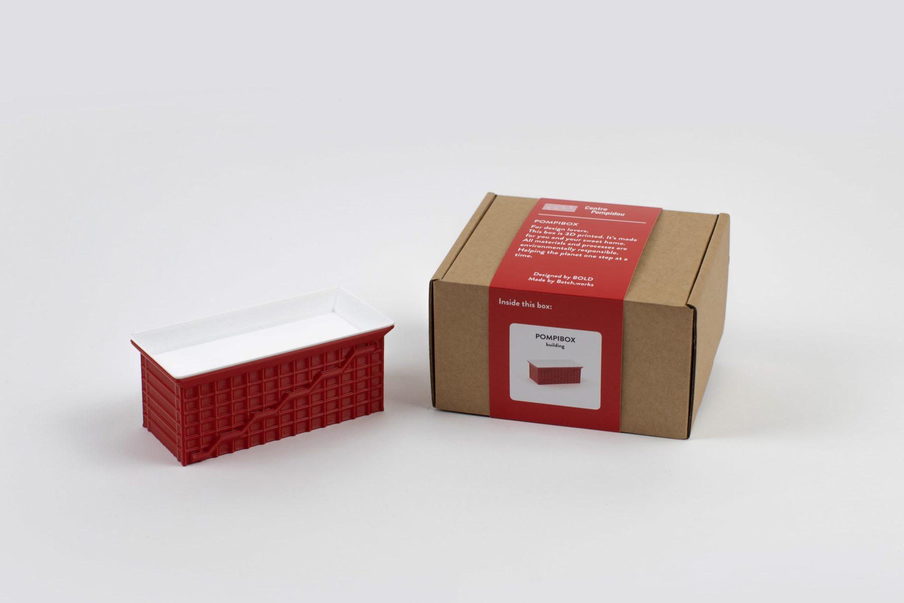 Pompibox par bold pour le Centre Pompidou