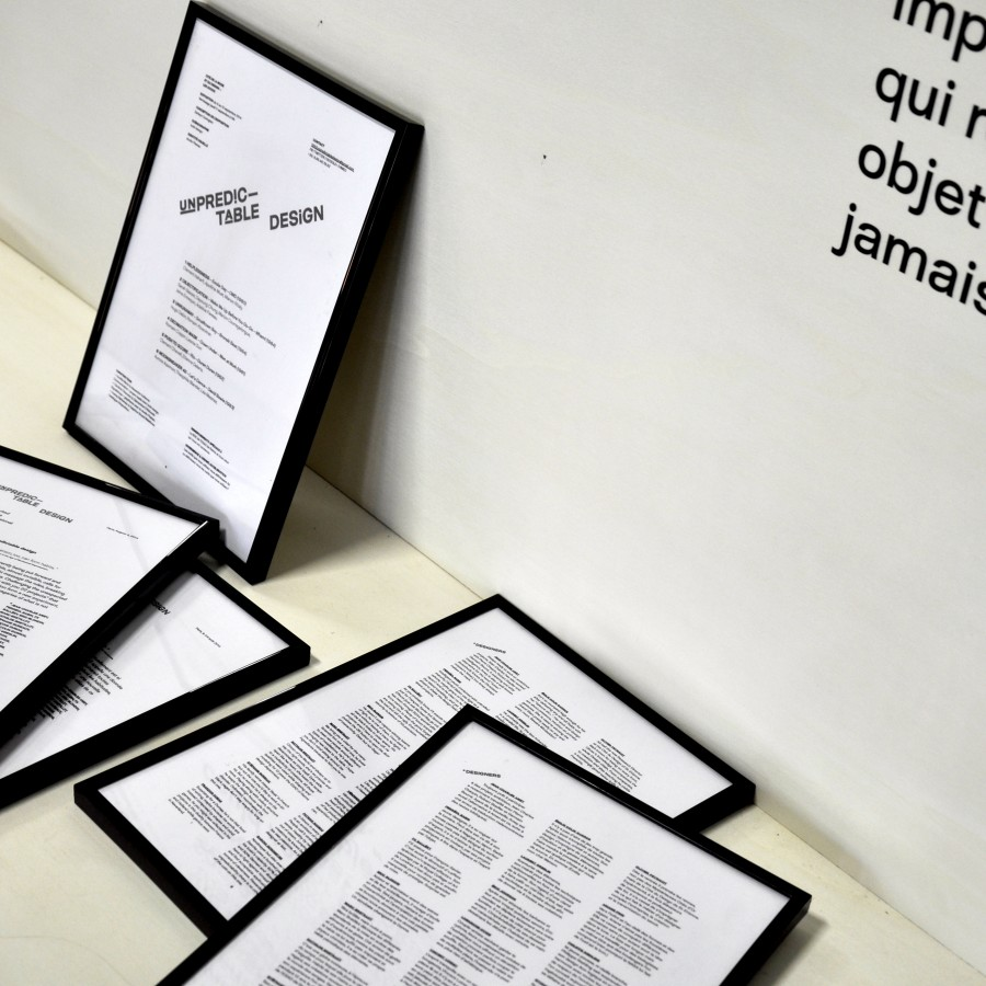 Unpredictable design - Scénography by bold-design with Plastac- client : Collective 1992 - www.bold-design.fr