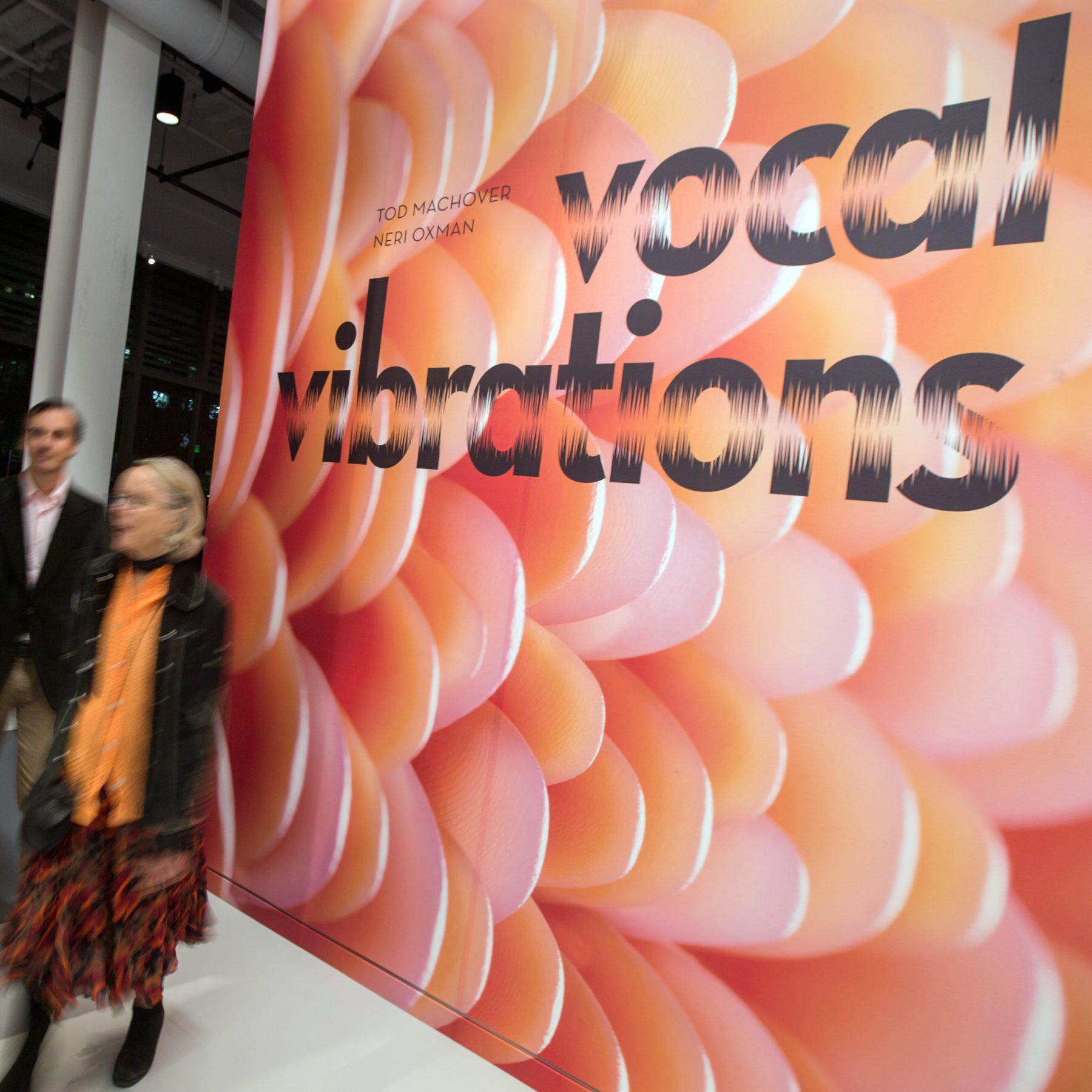 "10/30/2014  CAMBRIDGE, MA     Guests leave ""Vocal Vibrations "" next to Cafe ArtScience Cambridge (cq).  (Aram Boghosian for The Boston Globe)"