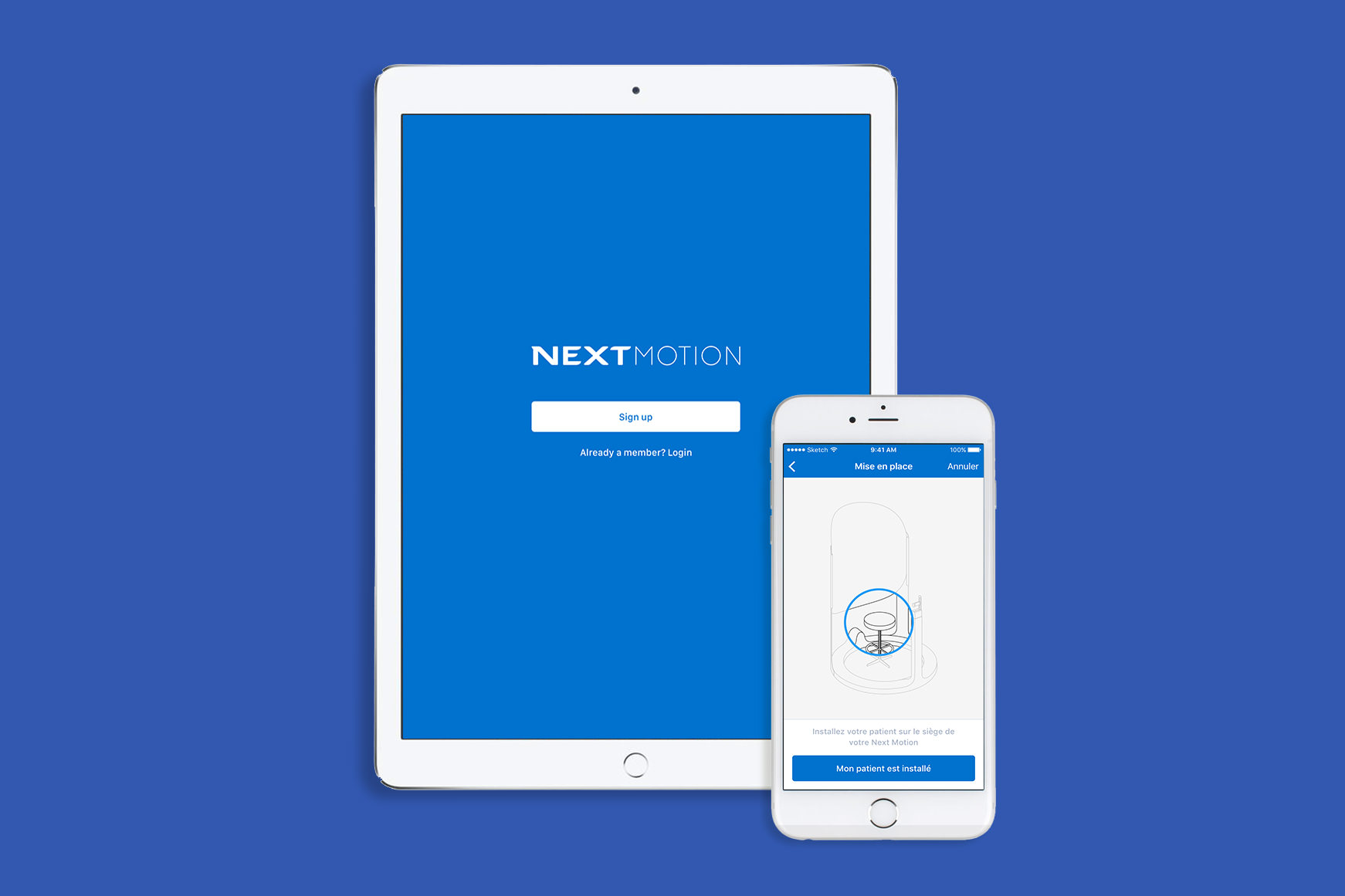 www.bold-design.fr - Nextmotion - application