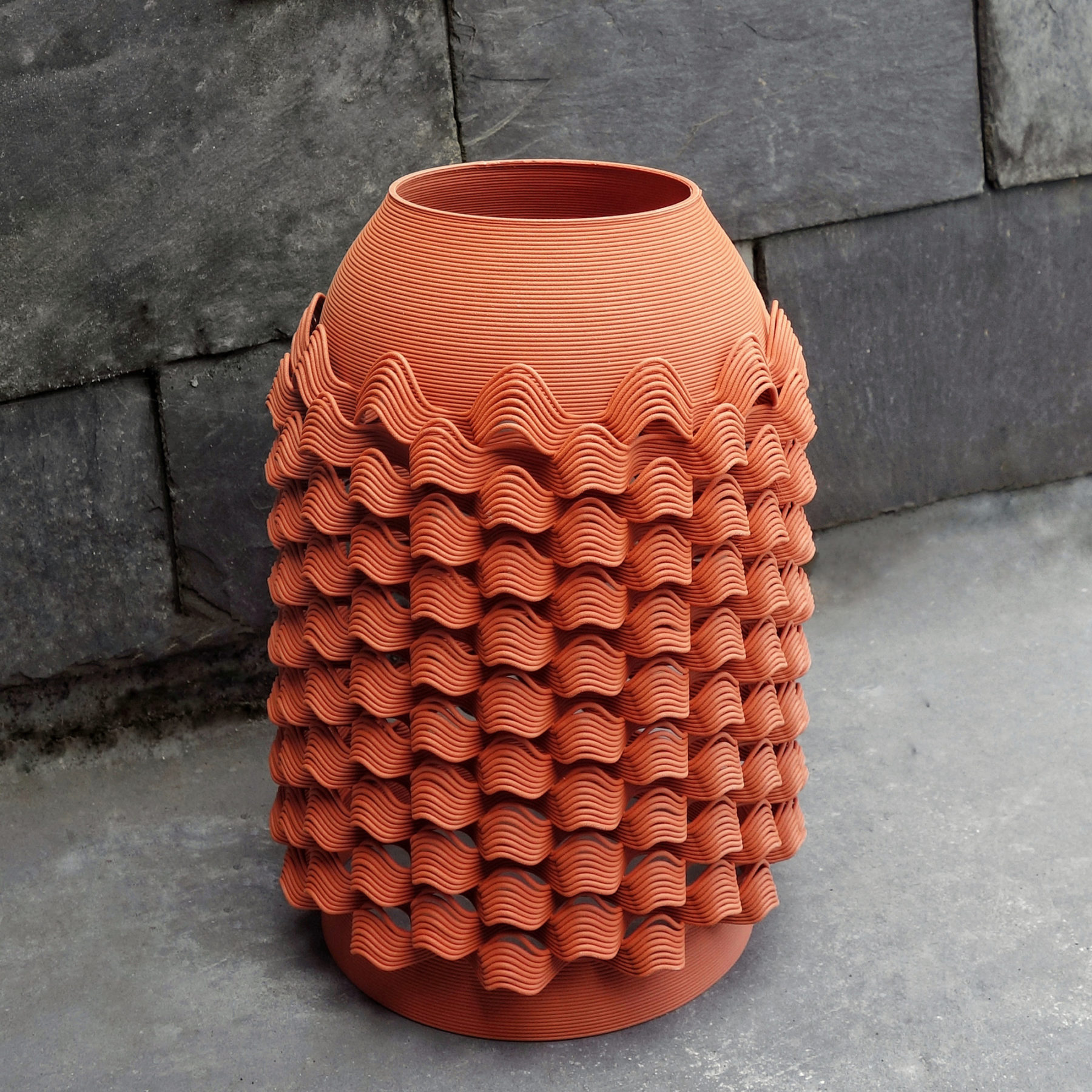 Vase TUILE - Glitch Exposition - bold-design.fr