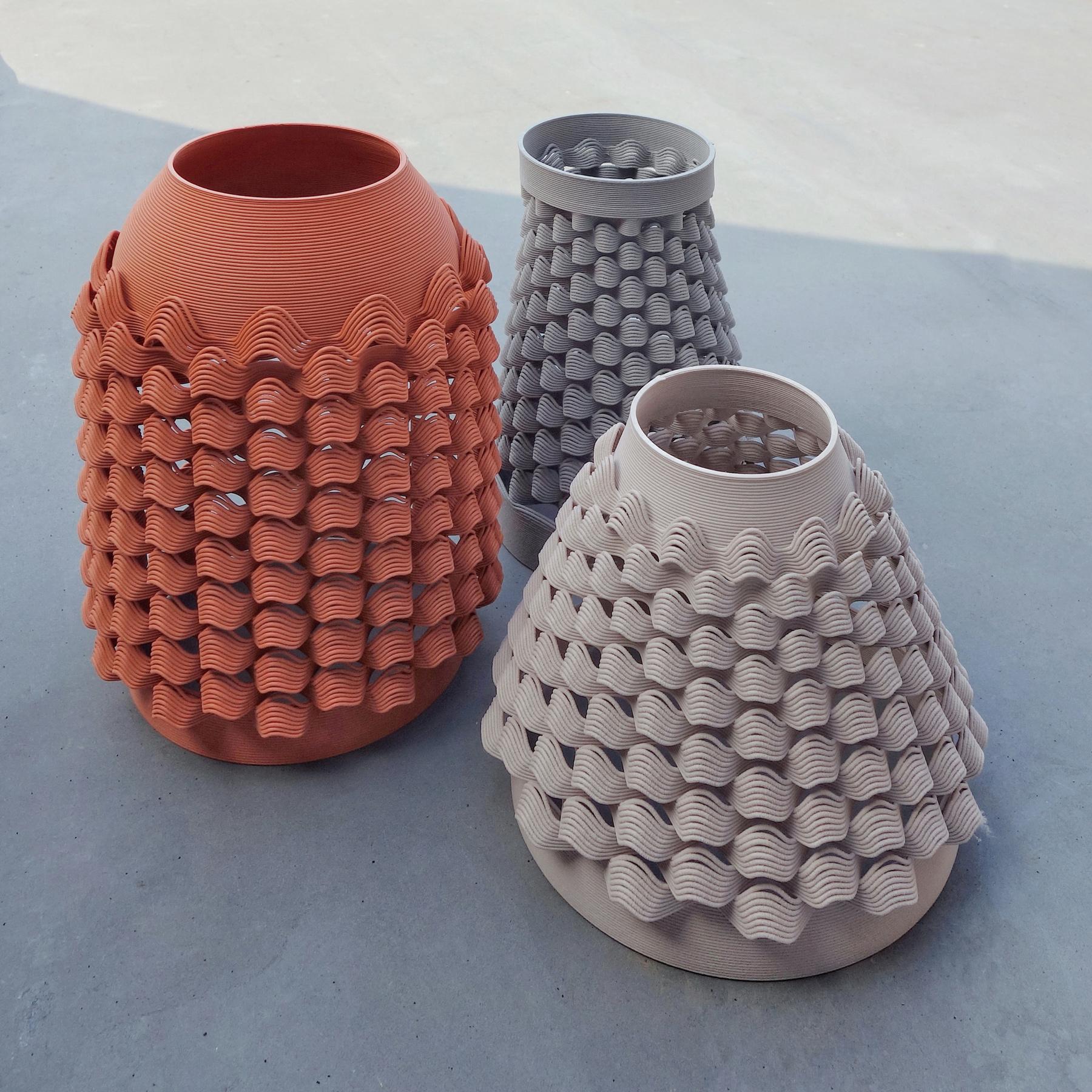 Vase TUILE - Glitch Exposition - bold-design.fr